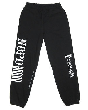 "Sweat-pants ""Logos"" BLK"