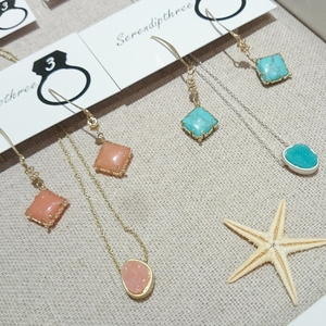 CRUSH stone Puti Necklace (H-7006)