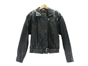 DESING LEATHER DOUBLE RIDERS JACKET