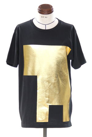 Gold Foil Geometry T-shirt