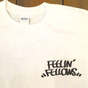 FEELIN' FELLOWS TEE (WHITE)