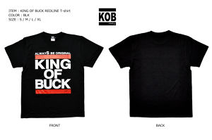 KING OF BUCK REDLINE T-shirt