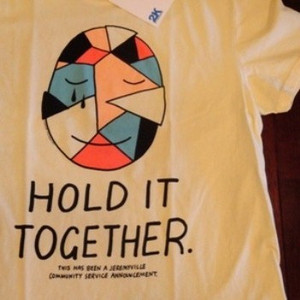"2K BY GINGHAM/ツーケイバイギンガム | 【超特価SALE!!! 50%OFF】 "" HOLD IT TOGETHER "" T-Shirt"