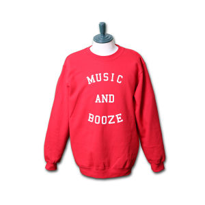MUSIC PULLOVER(RED)