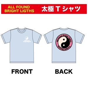 ALL FOUND BRIGHT LIGHTS 太極Tシャツ