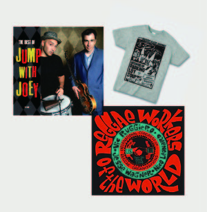 Tシャツ特典セット『THE BEST OF JUMP WITH JOEY』&『REGGAE WORKERS OF THE WORLD』 (PLS-001&PLS-002/CD)