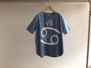"69(sixtynine)""FACE CLASSIC TEE LIGHT STONE WASH"""
