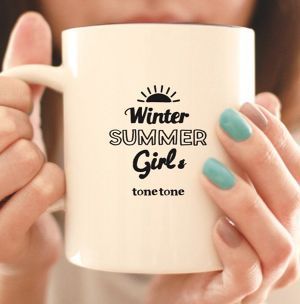 4th single『winter summer girl ep』