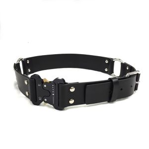 ALYX ROLERCORSTER LEATHER BELT