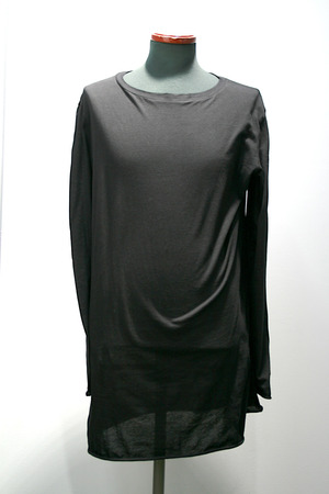"【by H.New York】""NEW FA_T""  L/S T-shirt  (BLK)"