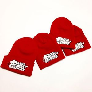 "AREA88/ESPY ""THROW UP"" KNIT CAP(RED)"