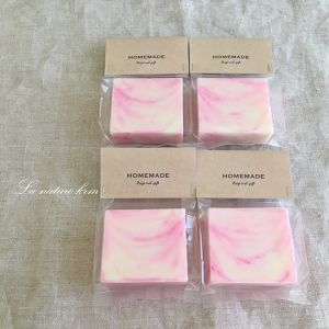 wanco's soap ~plain pinkmarble~