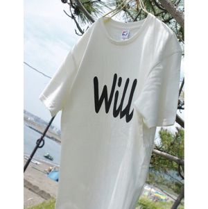 Team -Will- T-shirts 【Natural】