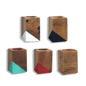 Reclaimed Tiny Pod  set of 5