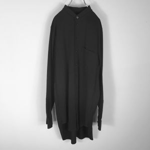 【SALE25%off】DISCOVERD no collar black shirts