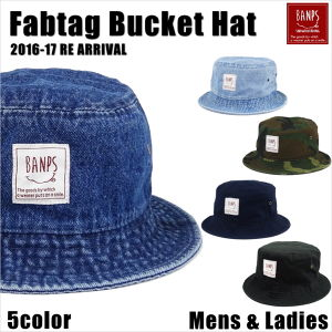 Fabtag Bucket Hat Smile bp-47