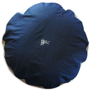 Round Dog Bed [L] : DENIM