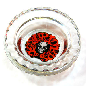 1980's Easyriders Glass Ashtray