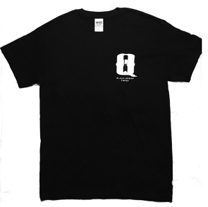 B×U×T logo T-shirt (Black)