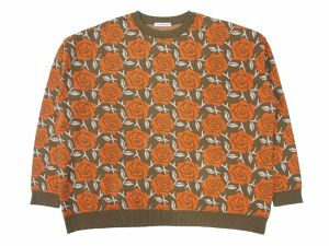 Iron ROSE SWEATER  ORANGE