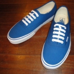 VANS/ヴァンズ | AUTHENTIC - CLASSIC BLUE -