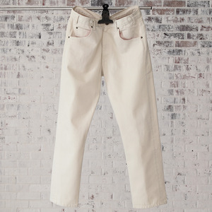 - ate - Color Pants(white)