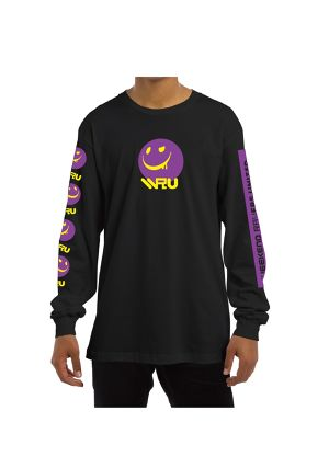 #WRU2017 LONG SLEEVE T-SHIRT / BLACK