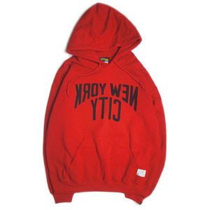 "Let it Ride Classics ""NYC Sweat Parka""RED"