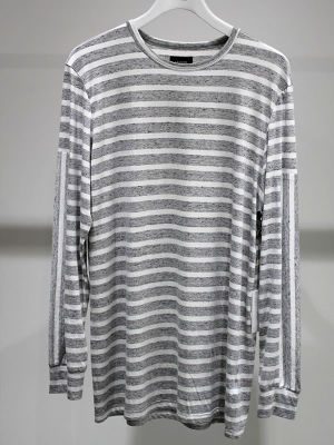 STMPD Heather Stripe L/S Tee