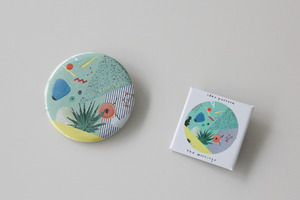 """idea pattern"" Can Badge"