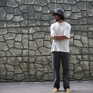 BLACK CHAMBRAY VINTAGE PAINTER PANTS
