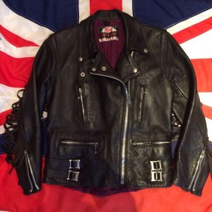 70's Highwayman Fringed Leather Jacket