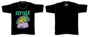 KEYTALK PIZZA Tシャツ