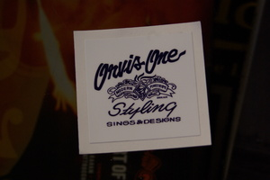 ORIGINAL STICKER -navy-