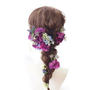 Bridal head dress*noble 20パーツ