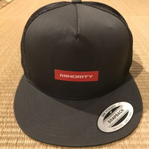 Classic Trucker MINORITY/Col.Charcoal