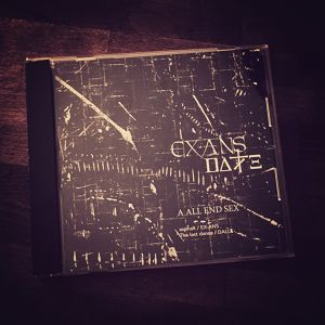 【EX-ANS / DALLE】split CD『A ALL END SEX』