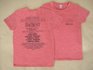 2015 OFFICIAL TOUR T-shirt [HEATHER RED]