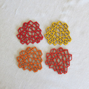 Coasters - red