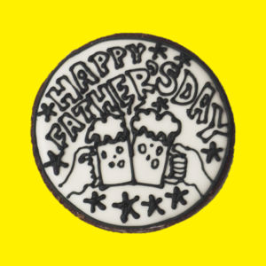 father's day cookie(monotone)
