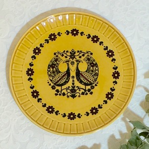"""70's Vintage Plate """"Palissy"""" from ENGLAND [CPV-1]"""