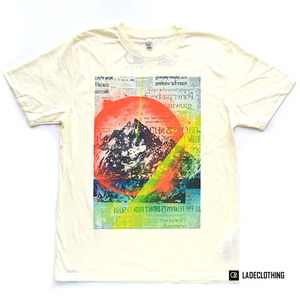 "LADE Clothing / Organic T-Shirt ""Mountain01"""