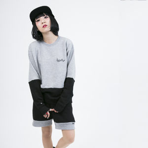 Cross cut Sweat	Gray