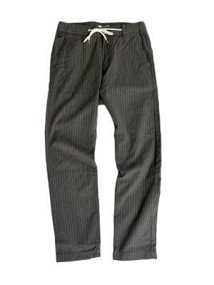KAFIKA(カフィカ)KFK053 STRIPE SLEEPY ANKLES Gray