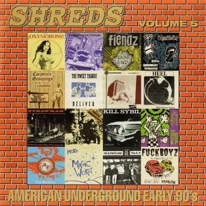 v/a / shreds volume 5 - american underground early '90s cd