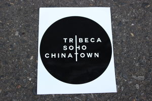 FILM FESTIVAL CIRCLE STICKER
