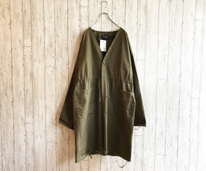 CHINO GOWN(OLIVE)