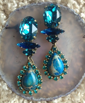 Swarovski pierce earring 1426-35