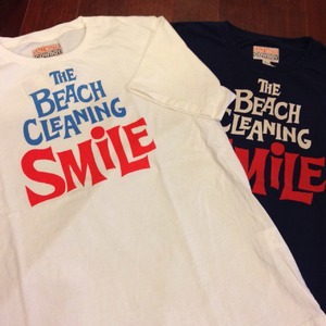 "SALTWATER COWBOY / ソルトウォーターカウボーイ | 【超特価SALE!!! 50%OFF】 "" BEACH CLEANNING "" T-Shirts"