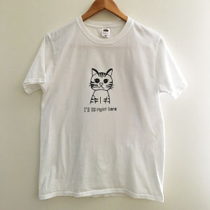 Tシャツ「I'll be right here」